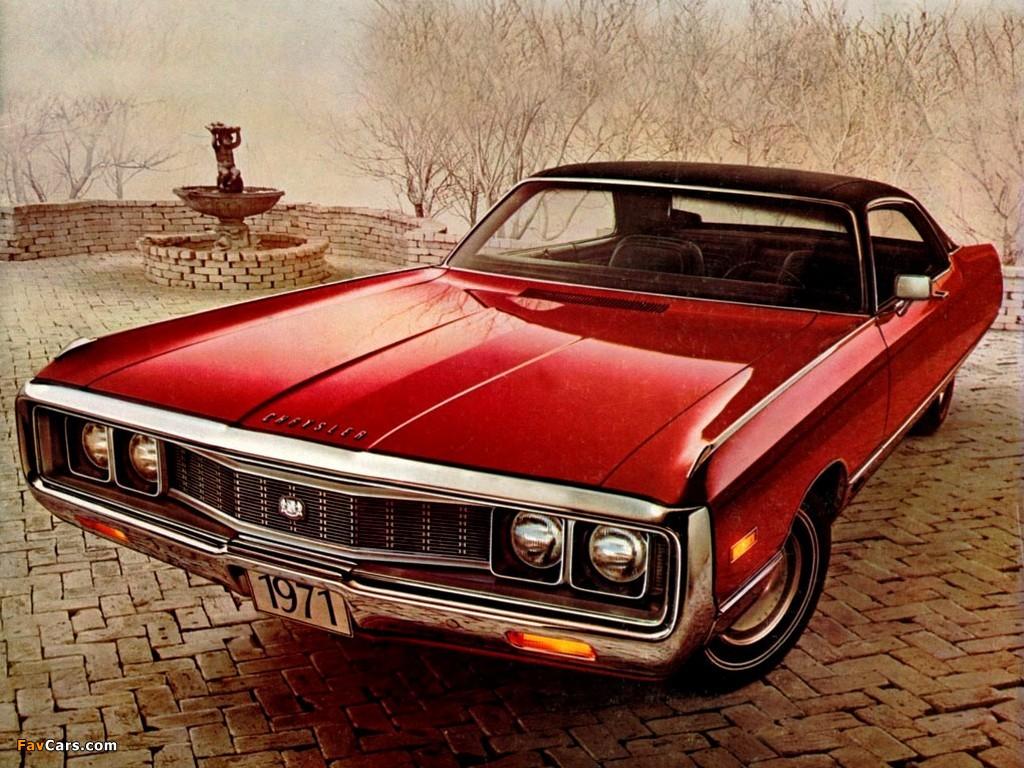 Chrysler Newport Custom 4 Door Hardtop 1971 Images 1024x768