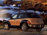 Wallpapers of Chrysler PT Cruiser Woodie Package 2002–06