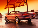 Chrysler Sebring Convertible 1996–2001 wallpapers