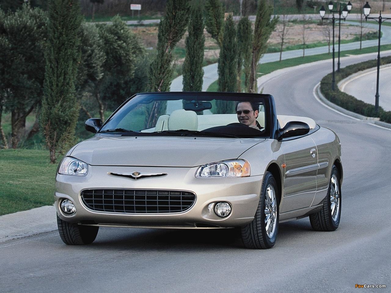 Chrysler Sebring Convertible 2001–04 images (1280x960)