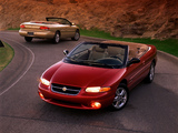 Photos of Chrysler Sebring Convertible 1996–2001