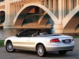 Photos of Chrysler Sebring Convertible 2001–04