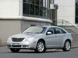 Chrysler Sebring Sedan UK-spec 2006–10 wallpapers