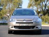 Images of Citroën C5 Break HDi AU-spec 2008–10