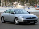 Photos of Citroën C6 V6 HDi AU-spec 2005