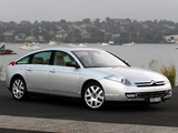 Citroën C6 V6 HDi AU-spec 2005 wallpapers