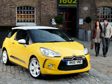 Citroën DS3 UK-spec 2009 images