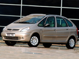 Citroën Xsara Picasso UK-spec 1999–2004 wallpapers