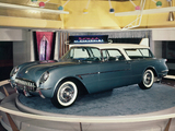 Photos of Corvette Nomad Concept Car 1954