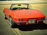 Images of Corvette Sting Ray L75 327/300 HP Convertible (C2) 1964