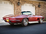 Photos of Corvette Sting Ray L71 427/435 HP Convertible (C2) 1967