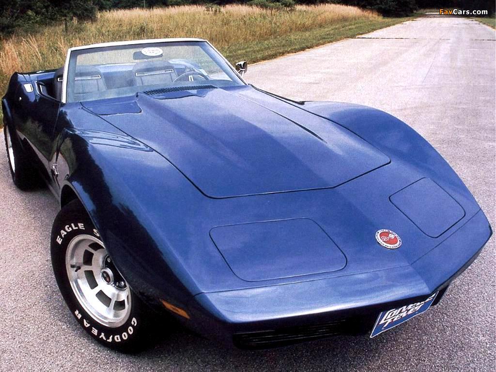 corvette stingray convertible c3 1973 pictures 1024x768. Black Bedroom Furniture Sets. Home Design Ideas