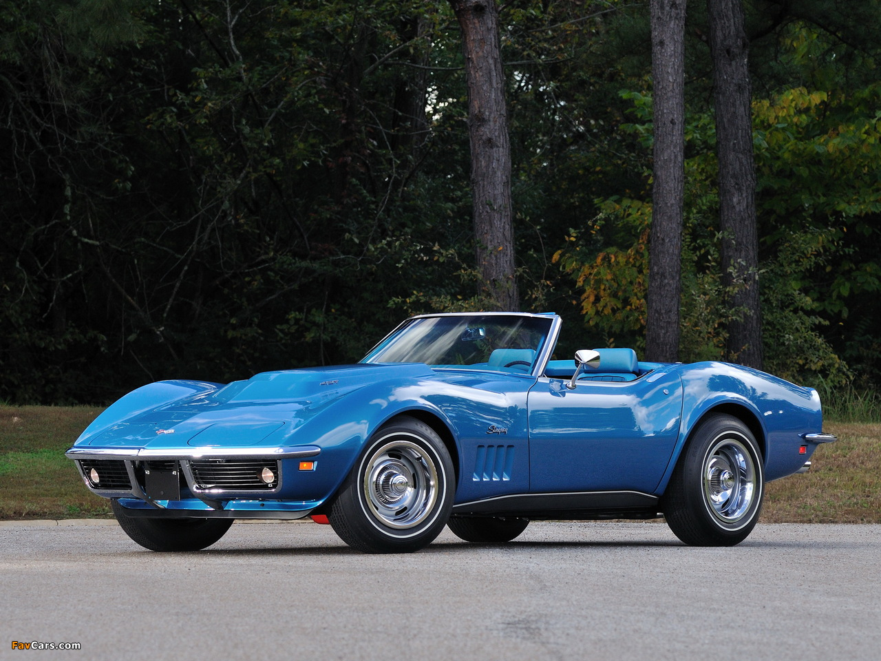 1969 Corvette Stingray >> Pictures of Corvette Stingray L88 427 Convertible (C3) 1969 (1280x960)