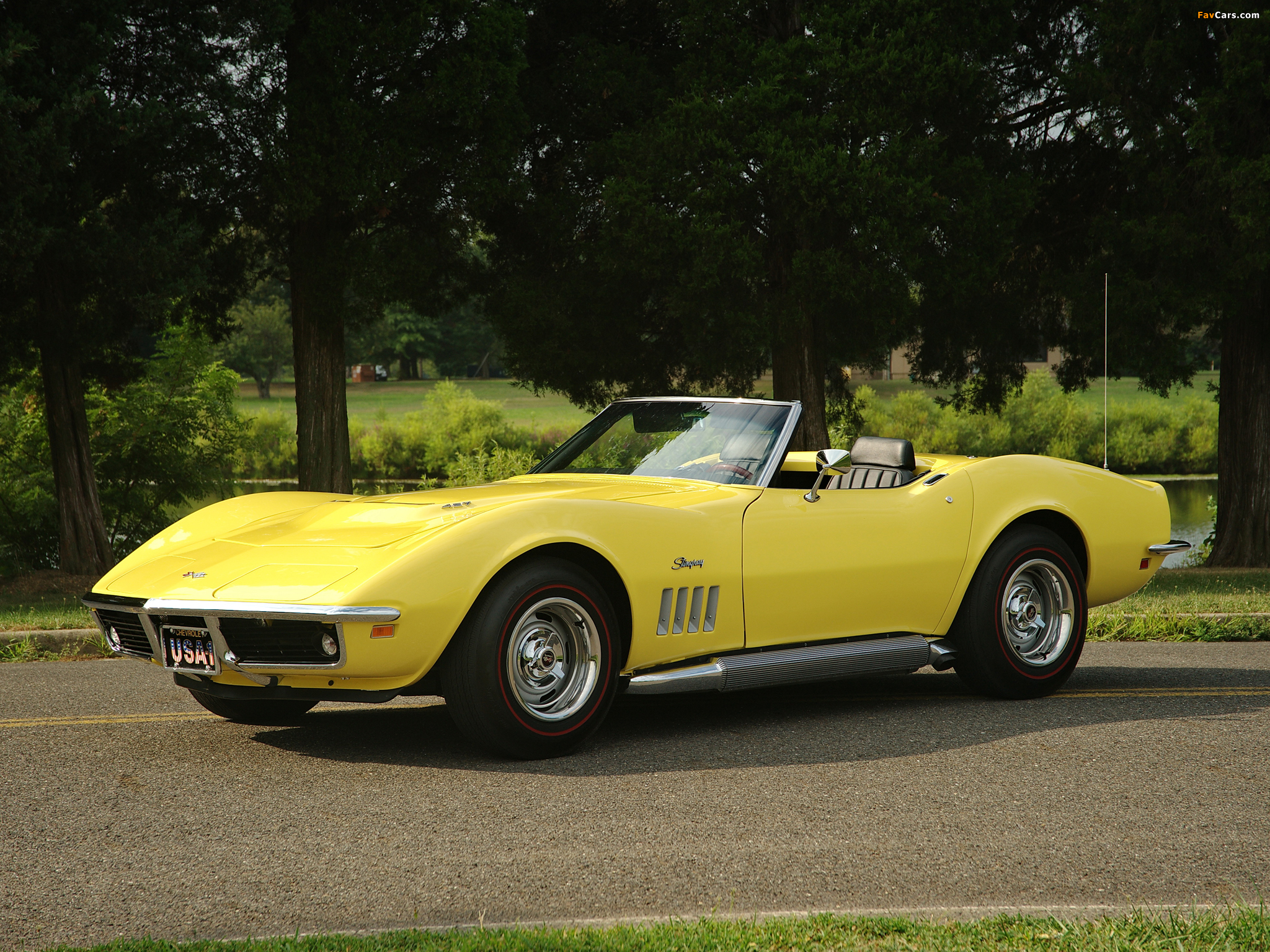 pictures of corvette stingray convertible c3 1969 2048x1536. Black Bedroom Furniture Sets. Home Design Ideas
