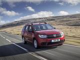 Dacia Logan MCV UK-spec 2017 images