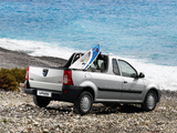 Images of Dacia Logan Pick-up 2007–08