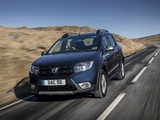 Dacia Sandero Stepway UK-spec 2017 wallpapers