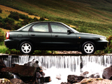 Daewoo Nubira Sedan UK-spec 1997–99 wallpapers