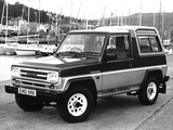 Photos of Daihatsu Fourtrak TD 1987–93