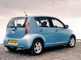 Daihatsu Sirion UK-spec 2005–07 photos
