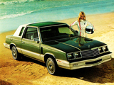 Dodge 400 Coupe 1982–83 images