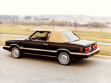 Dodge Aries Convertible by Con-Tec 1981–82 images