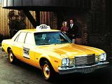 Dodge Aspen Taxi 1978 photos