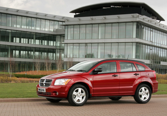 Images of Dodge Caliber UK-spec 2006–09 (2048x1536)