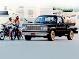 Dodge Warlock Custom 100 Utiline Pickup 1976–78 wallpapers