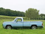 Dodge D150 Adventurer SE 1977 pictures