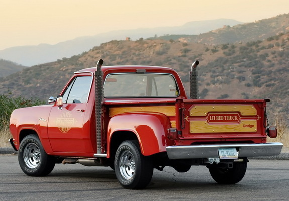 Dodge B Series >> Photos of Dodge Adventurer Lil Red Express Truck 1978–79 (800x600)