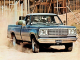 Dodge W100 Custom Pickup 1977 wallpapers