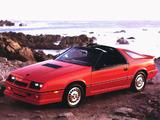 Photos of Dodge Daytona Turbo Z T-Top 1986
