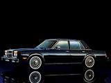 Dodge Diplomat Sedan 1980–89 photos