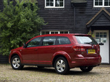 Dodge Journey UK-spec 2008–10 images