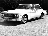 Photos of Dodge Lancer GT 2-door Hardtop 1962
