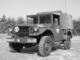 Photos of Dodge M37 Military Truck (T245) 1951–68