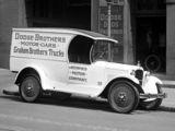Photos of Dodge Model BC ¾ ton Panel Delivery 1924–25