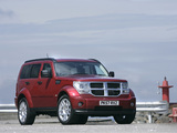 Wallpapers of Dodge Nitro UK-spec 2007–09