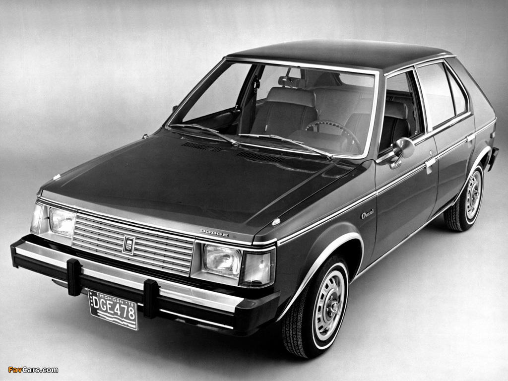 Dodge Omni 1978 90 Pictures 1024x768