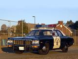 Dodge Polara Police 1973 pictures
