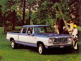Dodge D200 Power Wagon Custom Crew Cab 1977 images
