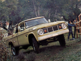 Images of Dodge W200 Power Wagon Sweptline Pickup (B6) 1966