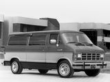 Pictures of Dodge Ram Wagon 1986–93