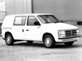 Wallpapers of Dodge Mini Ram Van 1984–88