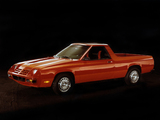 Wallpapers of Dodge Rampage 1982–84