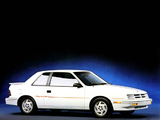 Dodge Shadow ES 2-door 1988–94 wallpapers
