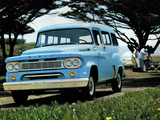 Dodge D100 2WD Town Wagon (T) 1963 pictures