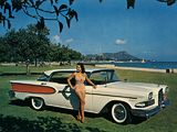 Wallpapers of Edsel Corsair 4-door Hardtop 1958