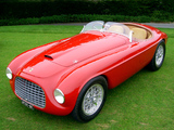 Ferrari 166 MM Touring Barchetta 1948–50 photos
